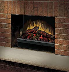Dimplex DFI2310 Electric Fireplace Deluxe 23-Inch Insert, Black from Dimplex