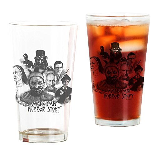 CafePress - American Horror Story Characters - Pint Glass, 16 oz. Drinking - American Horror Glasses Story