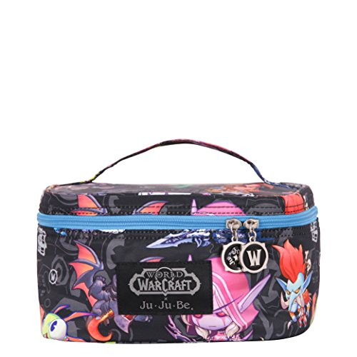 JuJuBe Be Ready Travel Make-Up/Cosmetic Bag, World of Warcraft Collection – Cute But Deadly
