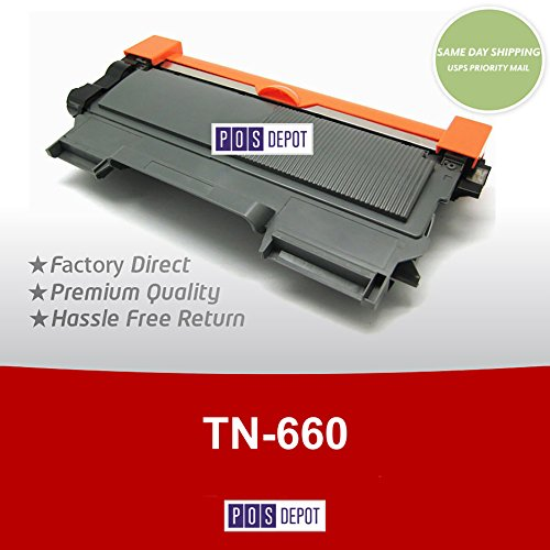 Brother Compatible TN660 TN-660 High Capacity Toner Cartridge - FREE SAME DAY USPS PRIORITY MAIL SHIPPING