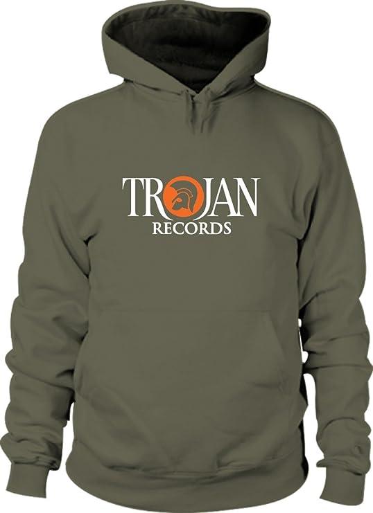 Revolutionary Tees TROJAN de discos de vinilo Reggae de color plateado y dorado 2 Ska * tallas S a sudadera con capucha mezcla de Heavy - XXL: Amazon.es: ...
