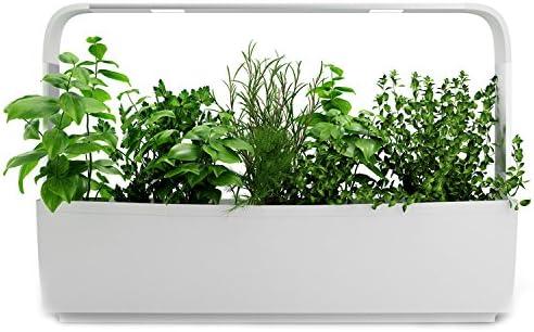 Tregren T12 Potager Du0027intérieur Connecté 12 Plantes, Kit Prêt à Pousser Et  Jardinière Autonome Pour Herbes Aromatiques, Petits Légumes, Fleurs    Cultivez ...
