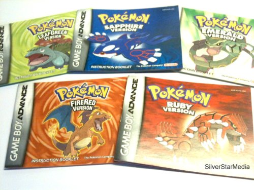 Buy game boy advance pokemon firered