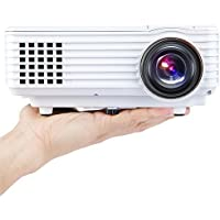 H1 LED LCD (WVGA) Mini Video Projector - International Version (No Warranty) - DIY Series - White (FP8048H1W-IV6)
