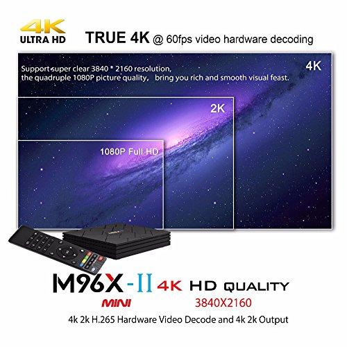 SHENGMO M96X-II MINI Android 7.1 TV BOX S905W Quad core 2GB Ram 16G Rom 5G Dual WIFI Bluetooth 4K H.265 HDMI 2.0 KODI 18 Tv Box by Shengmo (Image #6)
