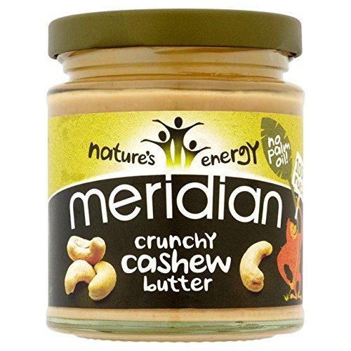 Meridian Crunchy Cashew Butter 100% Nuts - 170g
