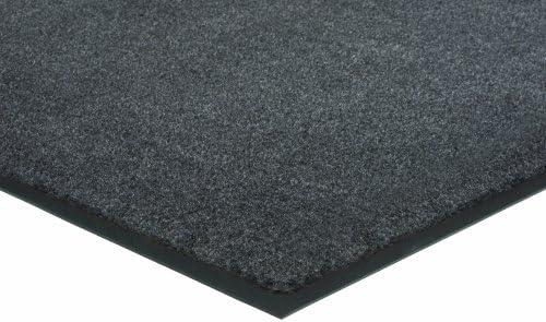 Herco 4 x 8 Indoor Outdoor Plush Carpet Mat – Grey