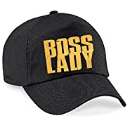 Boss Lady Cap Women's Personalized Trucker Hat Custom Gift