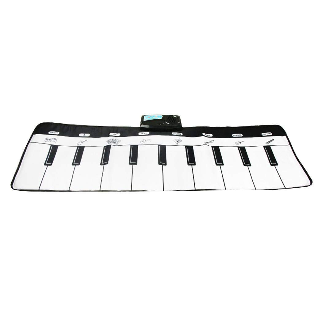 Breven Kids Piano Keyboard Mat, Electronic Music Playmat Carpet, Musical Crawling Blanket, Educational Toy Dance Mats by Breven (Image #1)