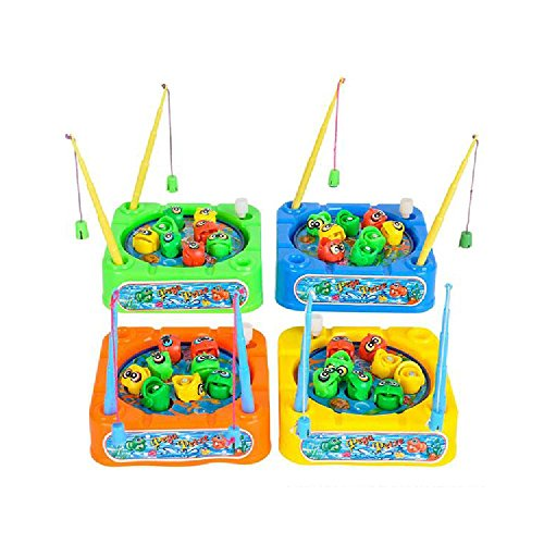 3.5'' Wind Up Fishing Game by Bargain World