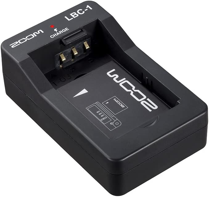 Zoom LBC-1 Li-Ion Battery Charger, Charges the Zoom BT-02 and BT-03 Batteries