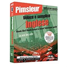Pimsleur English for Italian Speakers Quick & Simple Course - Level 1 Lessons 1-8 CD: Learn to Speak and Understand English for Italian with Pimsleur Language Programs