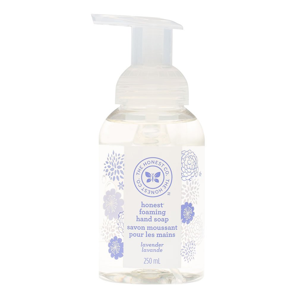The Honest Company Foaming hand soap pump with lavender scent, 8.5 oz