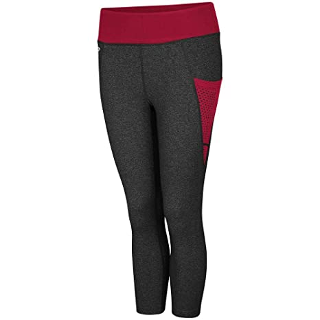 Colosseum Womens Oklahoma Sooners WallFlower Capri Yoga Pants