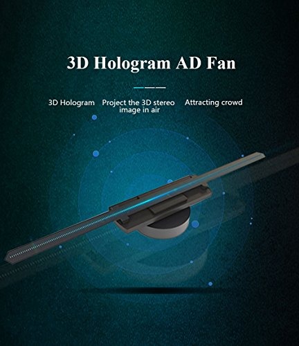 Docooler 3D Hologram AD LED Fan Holographic Projector Display for Product Presentation ADS Exhibition Decoration by Docooler (Image #5)