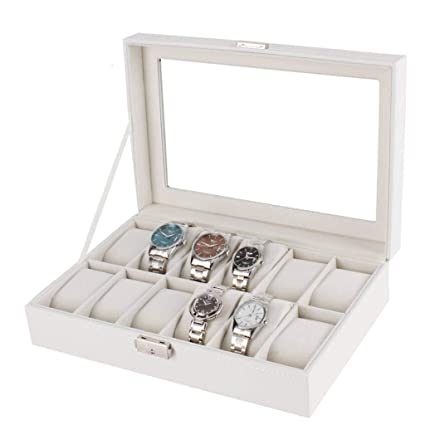 Amazon Com Watch Gift Box Personalized Watch Holder Removable Watch