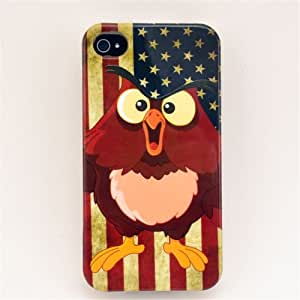 Colorful Thin Flexible TPU Material Phone Case Phone Cover for Apple Iphone 4 4s (Type2)