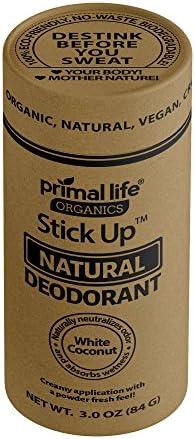 Deodorant Organic Natural Coconut Elimination