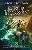 capa de O Ladrão de Raios - Volume 1. Série Percy Jackson e os Olimpianos