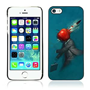 Designer Depo Hard Protection Case for Apple iPhone 5 5S / Abstract Apple