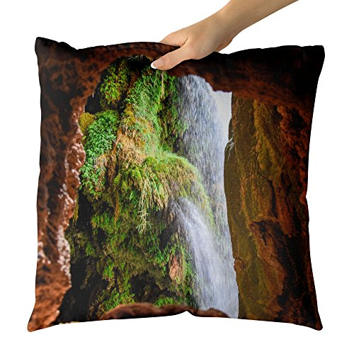 Westlake Art - Verde Naturaleza - Decorative Throw Pillow Cushion - Picture Photography Artwork Home Decor Living Room - 18x18 Inch (1CA32)