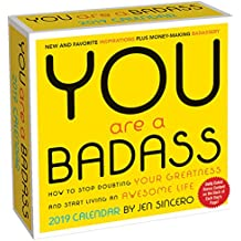 You Are a Badass 2019 Day-to-Day Calendar