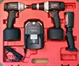 Chicago Pneumatic CP8738K 3/8-Inch Cordless Impact, Drill, Light Kit
