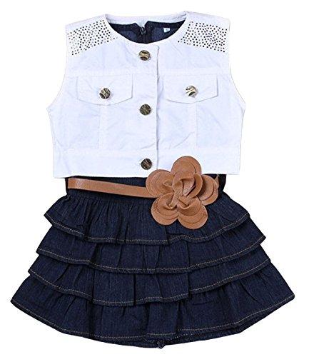 Denim Skirt Set - 6