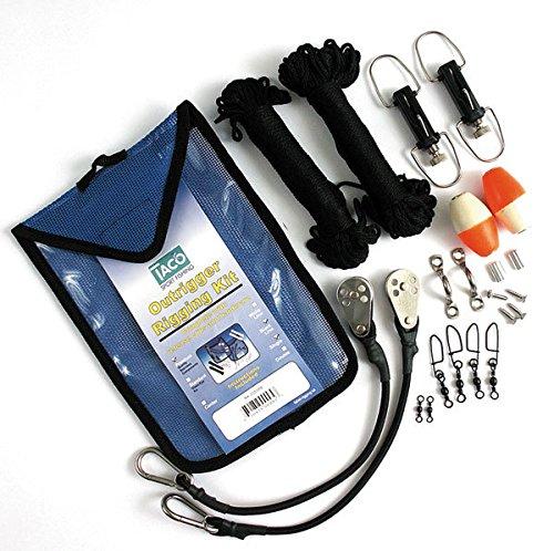 (Premium Black Outrigger Rigging Kit)