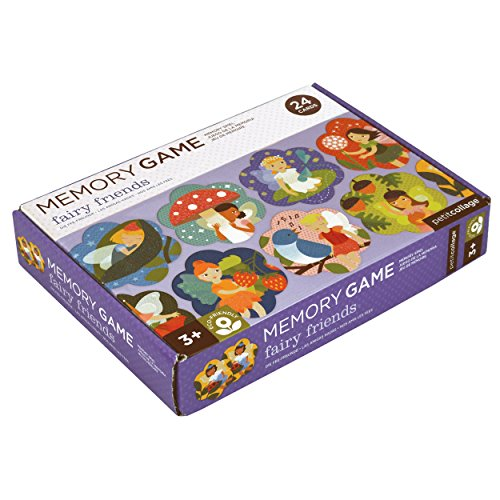 - Petit Collage Memory Game, Fairy Friends (24 Chunky Cards to Match)