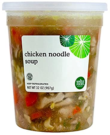 Whole Foods Market Chicken Noodle Soup 32 Oz Amazon Grocery
