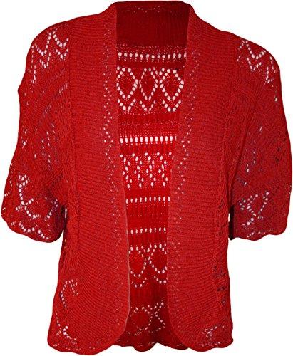 Forever Womens Plus Size Crochet Knitted Baggy Shrug Buy