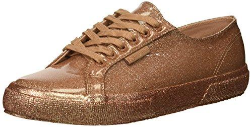 Superga Women 2750 Glitterpatentw Sneaker Rose Gold