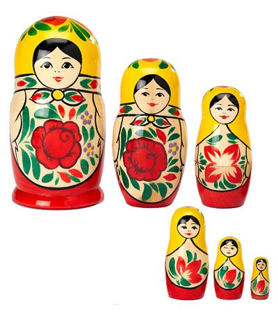 Magic Cabin Nesting Dolls Special - Book and Nesting Dolls