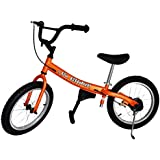 Go Glider Kids Balance Bike Lightweight Alloy with Patented Slow Speed Geometry (35 Inch Max Handlebar Height)