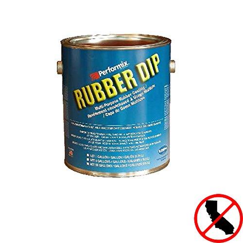 (Plasti Dip Multi-Purpose Rubber Coating - One Gallon (128oz) - RED)