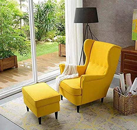 Mysummer Set of 4 Black Furniture Legs Sofa Legs Chair Legs Replacement Feet for Couch Cabinet Dresser Furniture