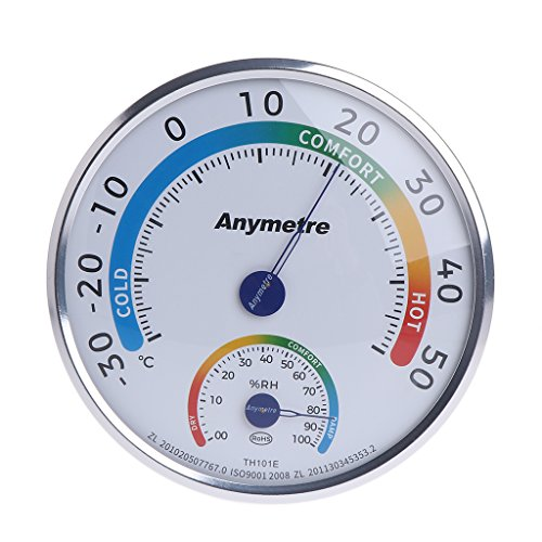 - Yuly Indoor Outdoor Wet Hygrometer Humidity Home Thermometer Temp Temperature Meter
