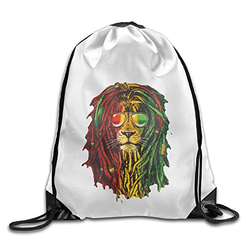Bekey Lion Rasta Hair Drawstring Backpack Sport Bag For Men & Women For Home Travel Storage Use Gym Traveling Shopping Sport Yoga (Angelina Jolie Alexander Costumes)