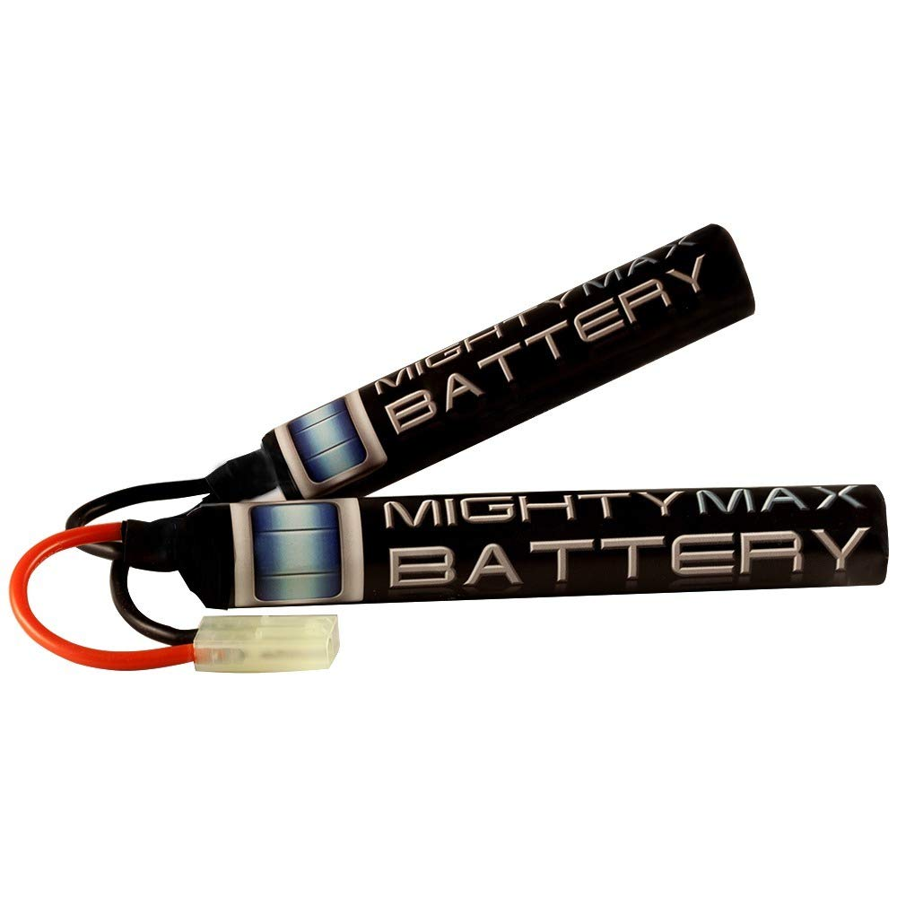 Mighty Max Battery 8.4V 1600mAh Butterfly Battery for Javelin Airsoft Works M4 CQB EBB brand product