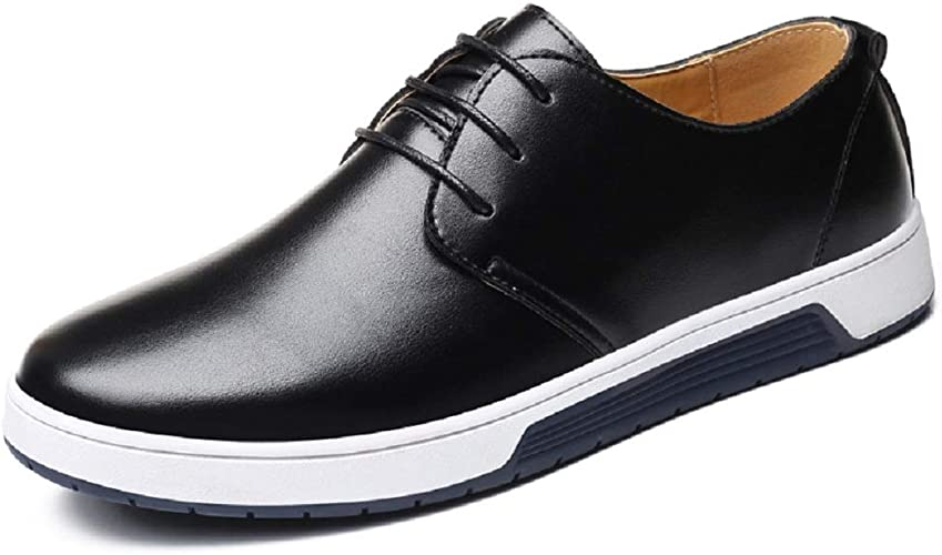 Business Fashion Leather Shoes Mens
