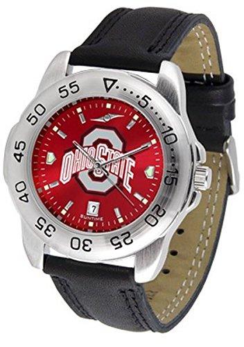 - Linkswalker Mens Ohio State Buckeyes Sport Anochrome Watch