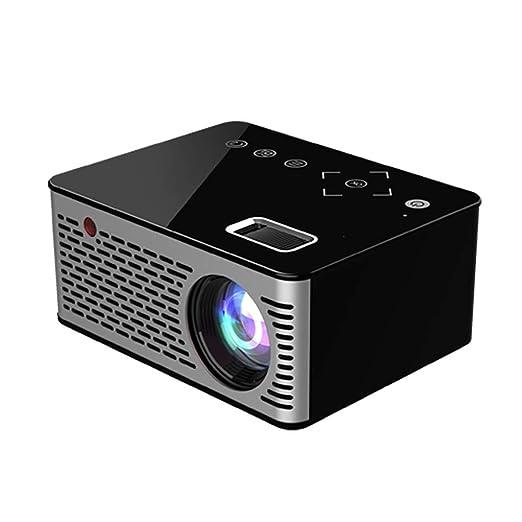 HLKYB Mini proyector portátil, Cine en casa Proyector de ...