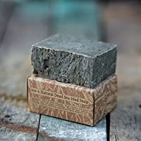 Handmade natural Dead Sea Mud Soap bar For Christmas Gifts For Men And For Dad (peppermint)