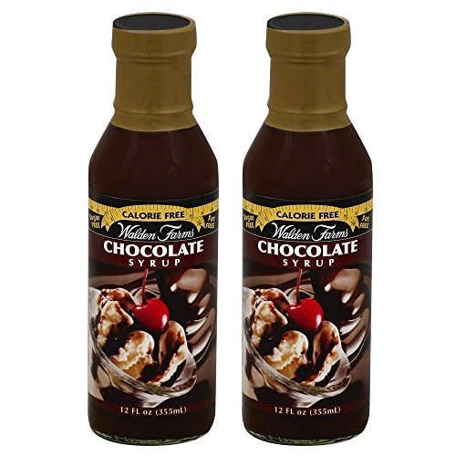 Walden Farms Chocolate Flavored Syrup 12 fl oz (2 Pack) (Best Arctic Zero Ice Cream Flavors)
