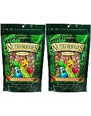 Lafeber's Gourmet Tropical Fruit Nutri-Berries Parakeet, Cockatiel & Conure Food 10 oz (2 Pack)