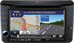 "Kenwood DNX521DAB - Radio para coches (200 W, pantalla de 7"", Bluetooth), negro"