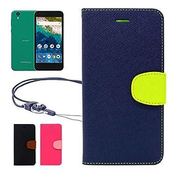 7dc34ee925 【 shizuka-will- 】 Softbank ソフトバンク Android One S3 専用 手帳型 ケース カバー