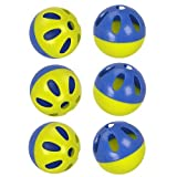 Stats Rip Balls - 6-Pack - Blue and Lime