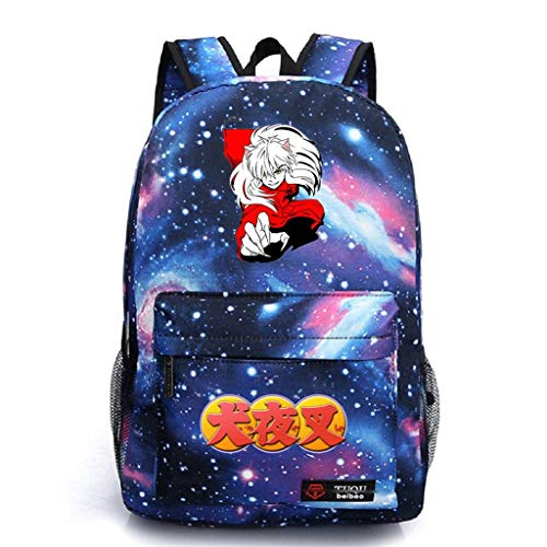 (YOYOSHome Anime Inuyasha Cosplay Daypack Bookbag Backpack School)